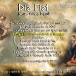 Dia Fiat, nosso SIM a Deus 2014