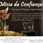Missa Confiança – Paróquia Santo Antônio, Carapicuíba.