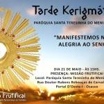 Tarde Kerigmática na Paróquia Santa Teresinha do Menino Jesus em Osasco!