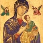 No dia 27 de junho celebramos Nossa Senhora do Perpétuo Socorro.