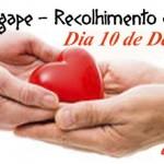 Dia Ágape 2016 – Recolhimento e Ação de Graças